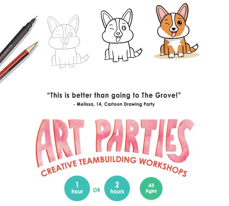 art-parties-head